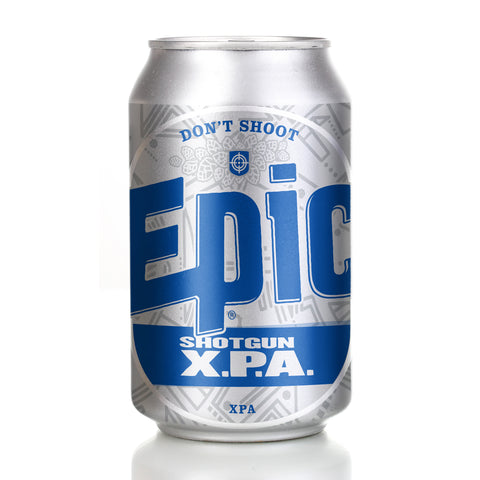 Shotgun XPA 24 x 330ml CANS - Epic Beer