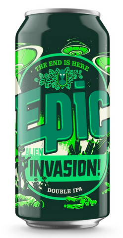 Epic Alien Invasion 8% - 24 x 440ml cans - Epic Beer