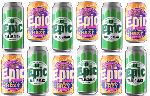 Epic - Hazy Party Time Pack - 12 can mix - Epic Beer