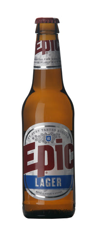 LOOSE - Epic Lager bottles - 5% - 24 x 330ml - Epic Beer