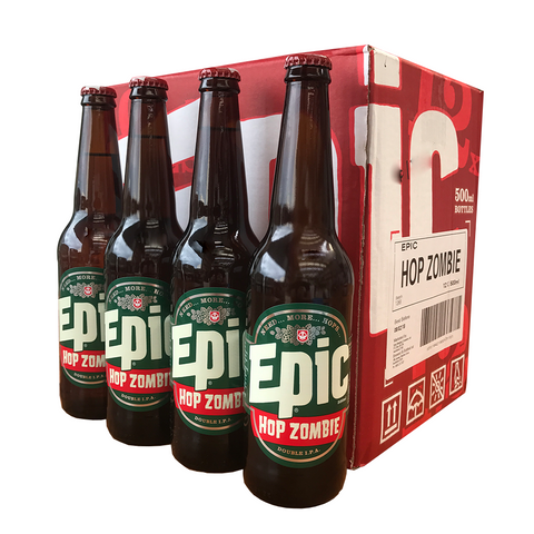 Hop Zombie DIPA - 12 x 500ml Case - Epic Beer