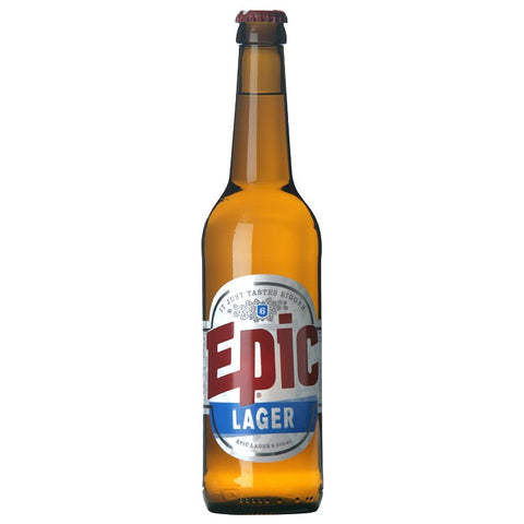 Lager 12 x 500ml Case - Epic Beer