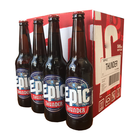Thunder APA 12 x 500ml Case - Epic Beer