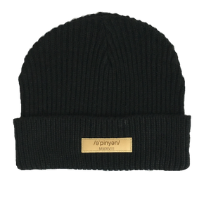 Black Opinion Beanie - Opinion Clothing | Streetwear | Minneapolis, MN