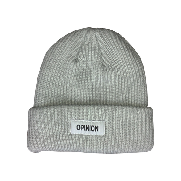Opinion Gray Color Rush Beanie | Opinion Clothing | Minneapolis Streetwear