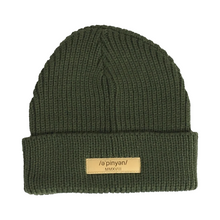 Load image into Gallery viewer, Olive Opinion Beanie