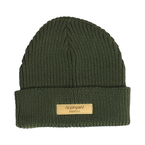 Olive Beanie | Opinion Clothing | Minneapolis Streetwear