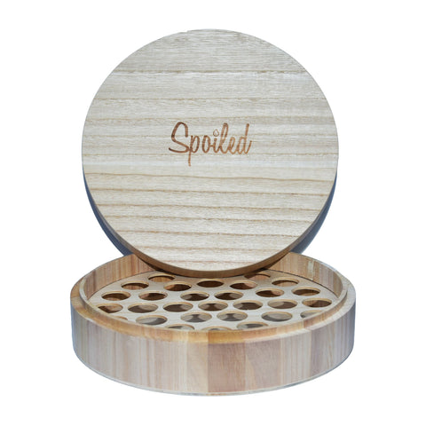 Spoiled Wooden Oil Box