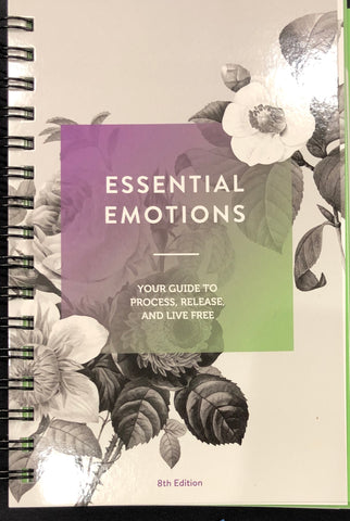 NEW 2019 Emotions & Essential Oils Books (100 new Pages) - 8th Edition