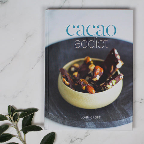 On Sale!  Regular $25+Cacao Addict cookbook and more essentoil cooking recipes by John Croft