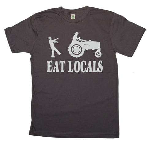 Eat Locals Zombie Shirt