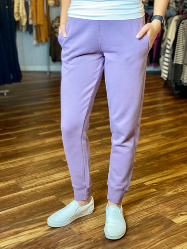 Dusty Purple Joggers