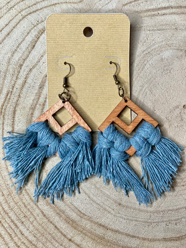 Thea Macrame Earrings