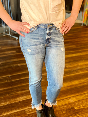 Medium Wash High Rise KanCan Jeans