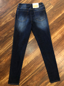 Dark Wash High Rise Classic Skinny Jeans - Size 3, 5, & 7