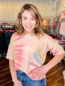 Blush Multi Mix Top