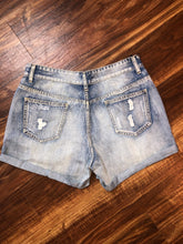 Load image into Gallery viewer, Denim Distressed Shorts