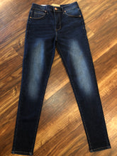 Load image into Gallery viewer, Dark Wash High Rise Classic Skinny Jeans - Size 3, 5, & 7