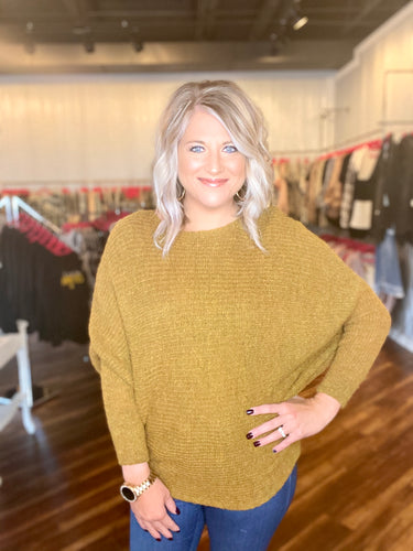 Mustard Sweater - Size S