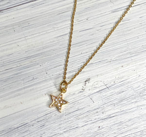 Five Point Star Necklace