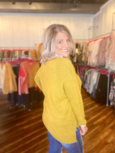 Load image into Gallery viewer, Mustard Sweater - Size S & M