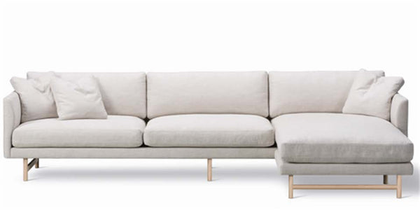 Calmo Sofa 95 - 3-Seater - Chaise - Wood Base