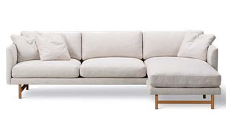 Calmo Sofa 80 - 3-Seater - Chaise - Wood Base
