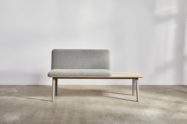 Sage Bench with Table by David Rockwell