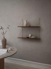 Loop Shelf - Smoked Oak