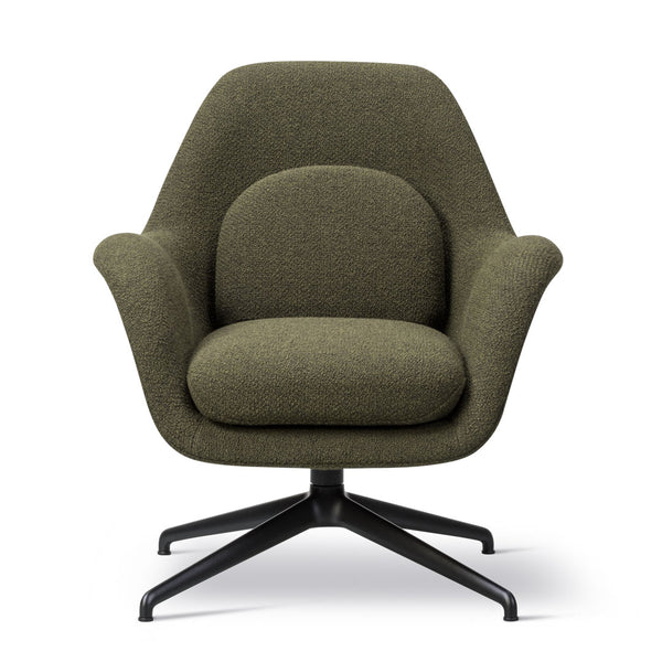 Swoon Lounge Swivel Chair - Petit - Fabric Shell