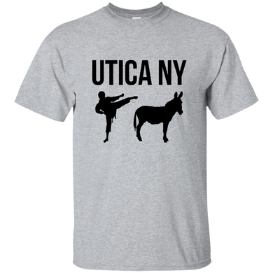 Utica NY Kicks Ass Basic T-Shirt