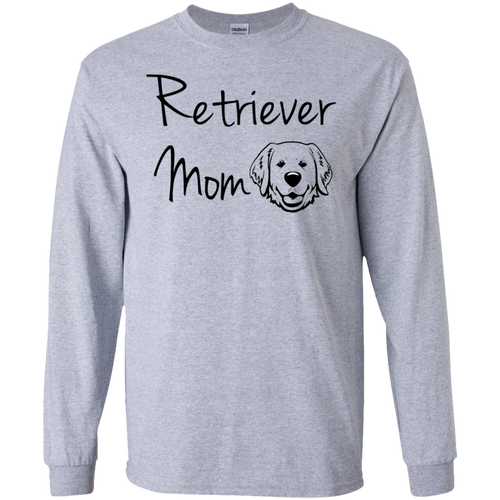 Golden Retriever Mom LS T-Shirt