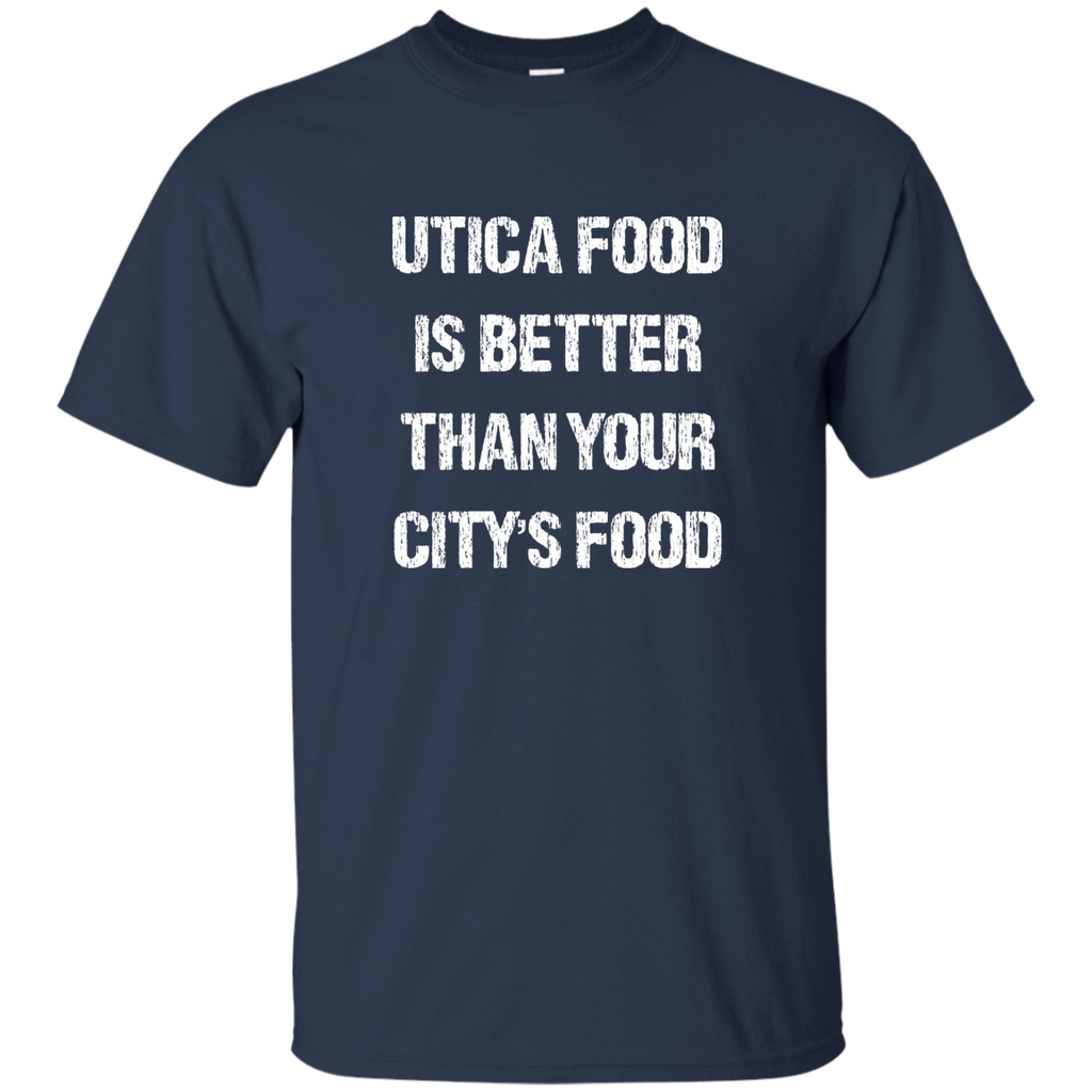 Utica Food Cotton T-Shirt