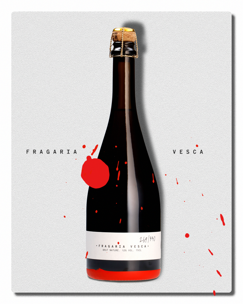 Fragaria Vesca Brut Nature | № 001-027
