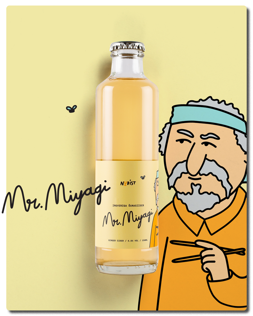 Mr. Miyagi: Apple Cider with Ginger
