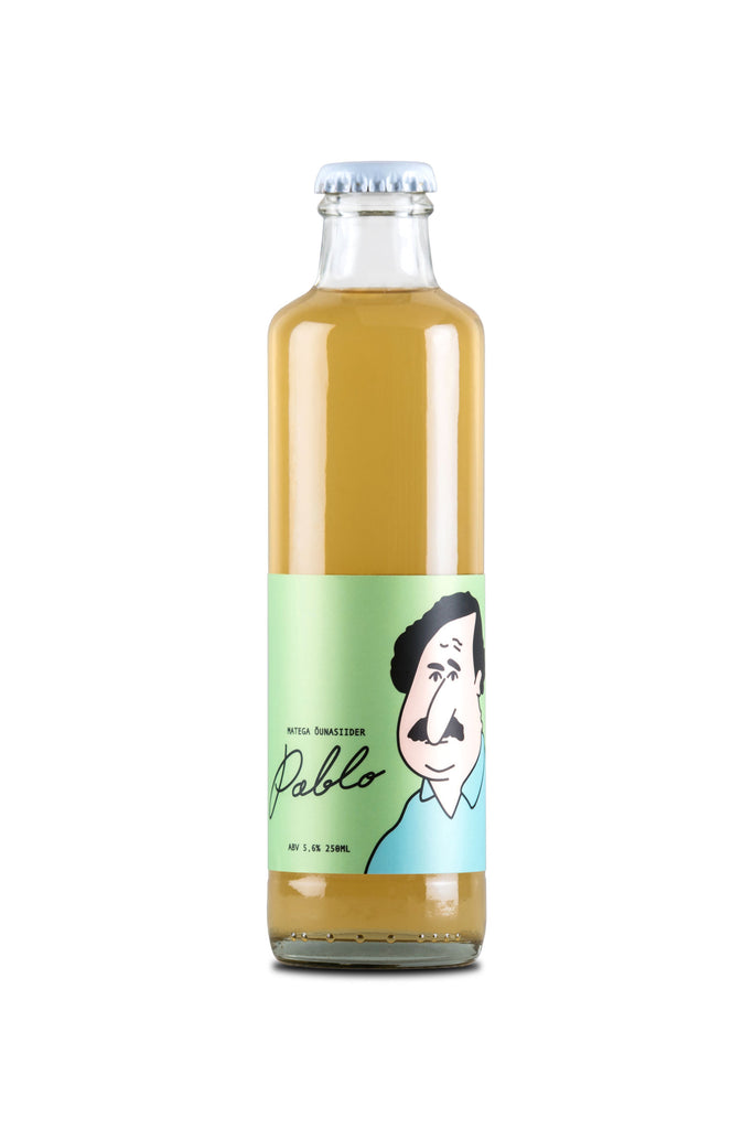 Pablo: Dry Apple Cider with Yerba Maté