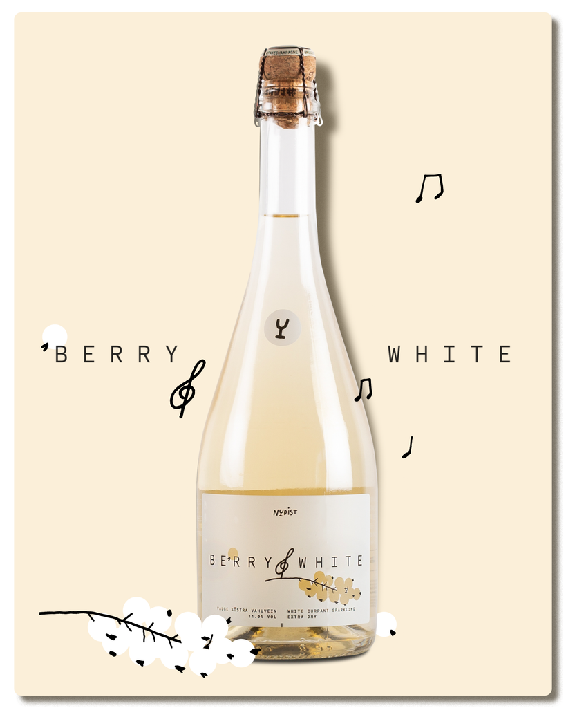 BERRY WHITE: SPARKLING WHITE CURRANT WINE