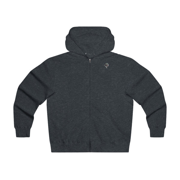 Men's Lightweight Zip Hooded Sweatshirt - Constantly Carving