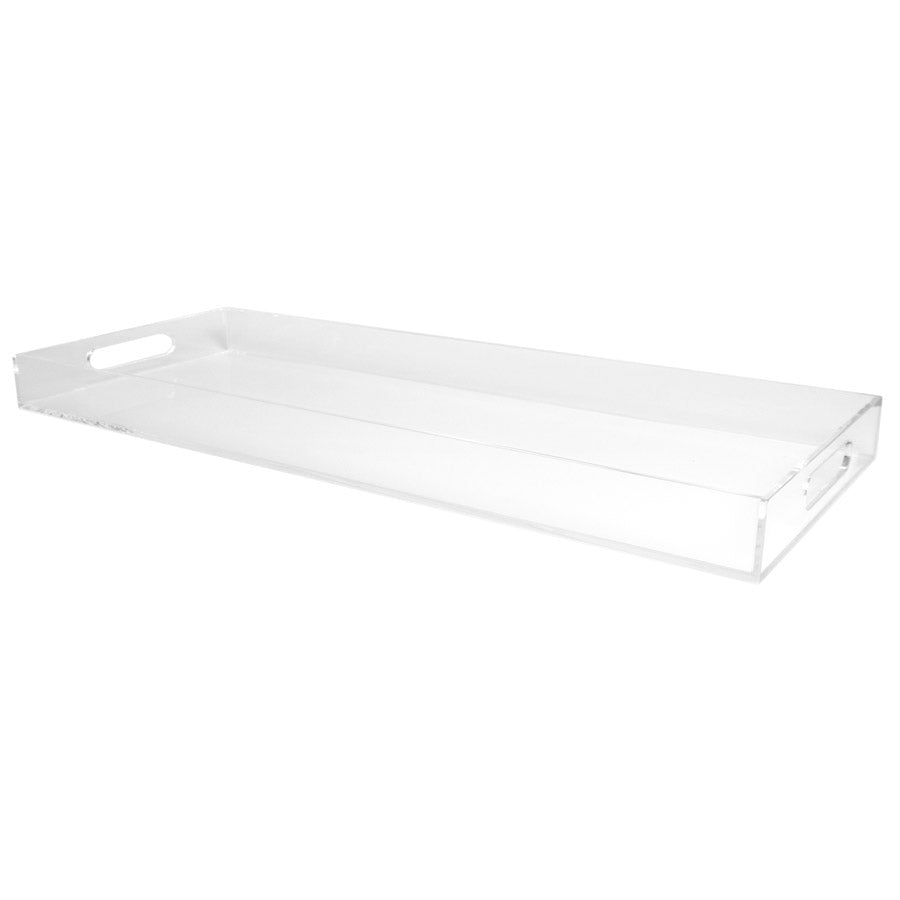 Clear Narrow Tray