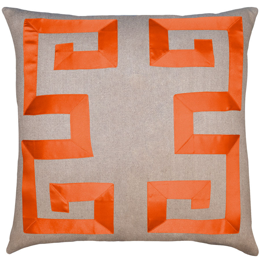 Empire Linen Orange Ribbon