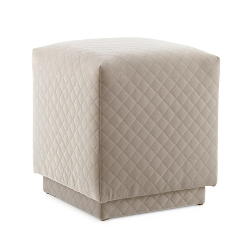 Gavin Quilted Light Grey CENTERED