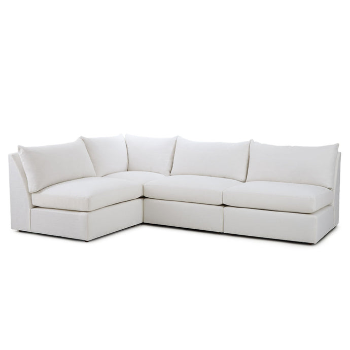 Lucas Sectional Slubby Bone