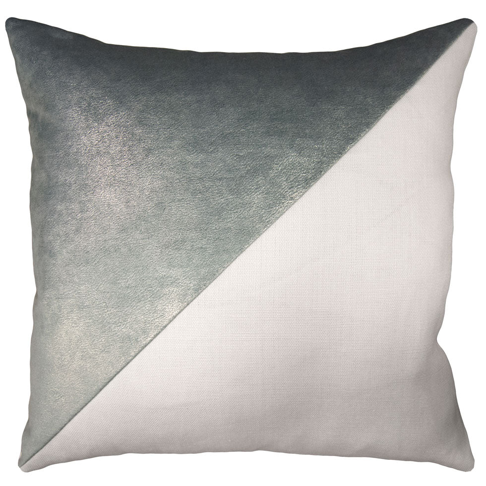 Lux Opalescent and Slubby Linen Bone