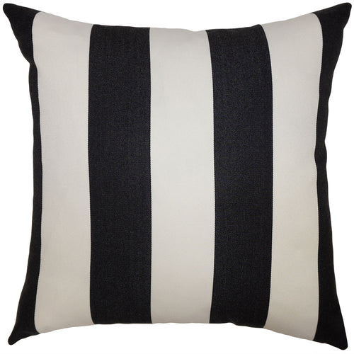 Outdoor Stripe Black