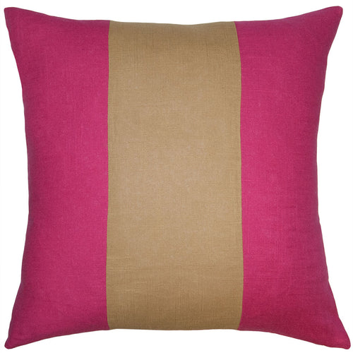Savvy Hue Fuschia Gold Band