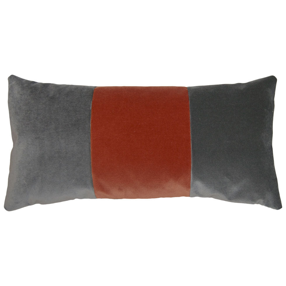 Tang Orange Band Square Feathers