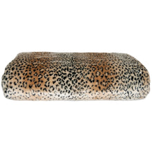 Load image into Gallery viewer, cheetah fur throw