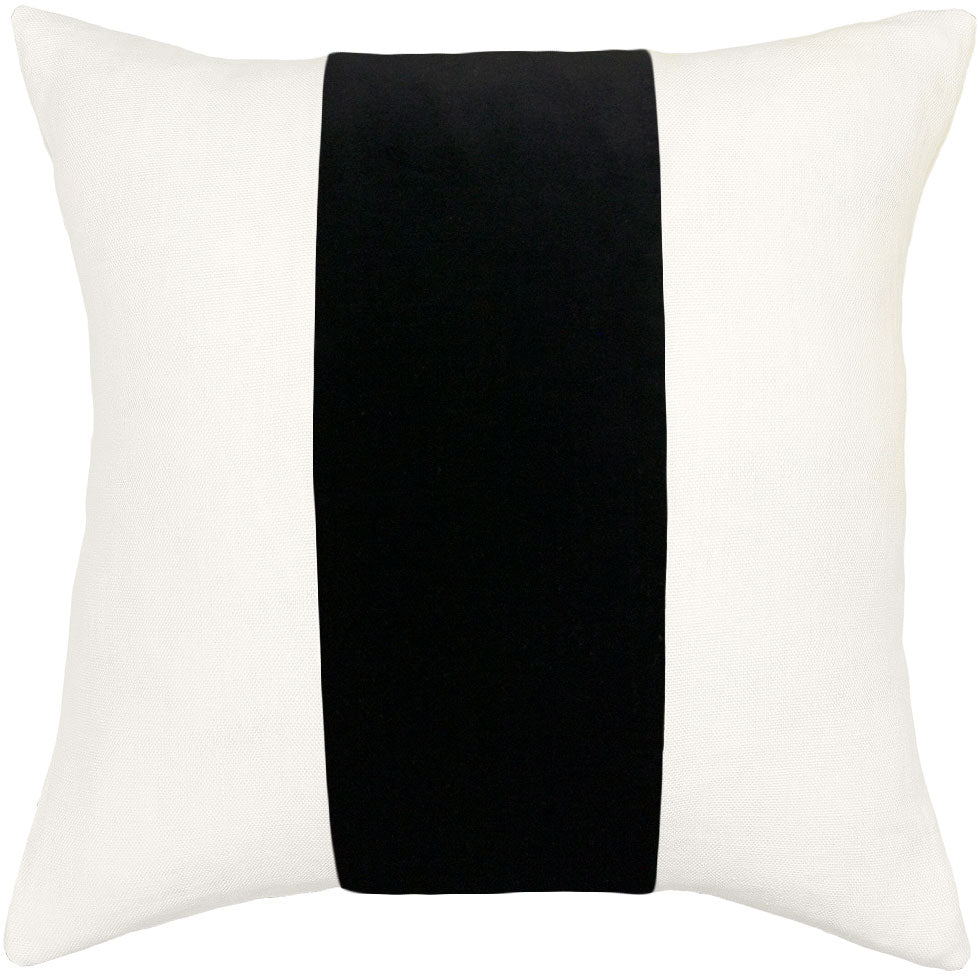 ming birch linen black band