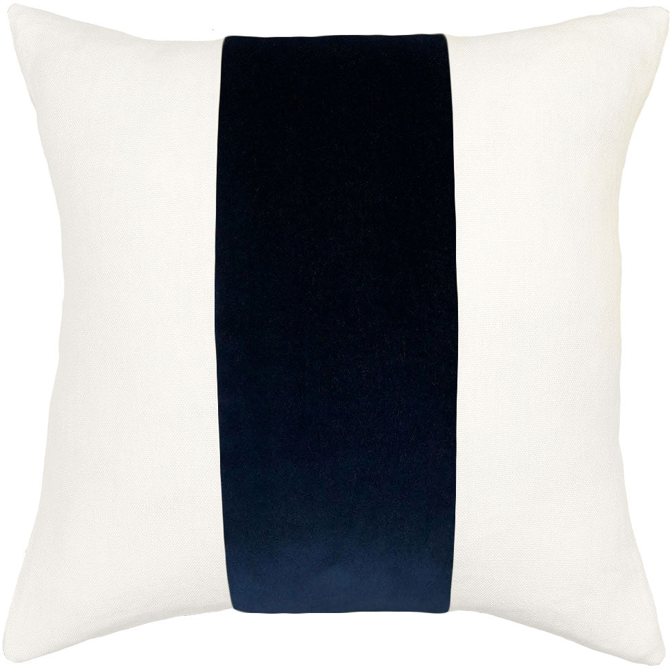 ming birch linen indigo band