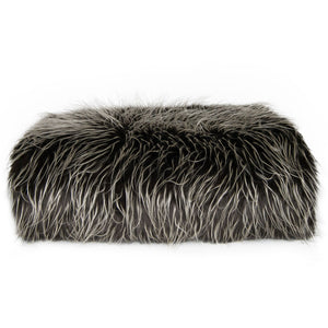 spike fur throw